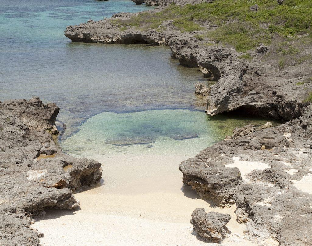 Cape Shiratori-zaki, Irabu island. ©OCVB.