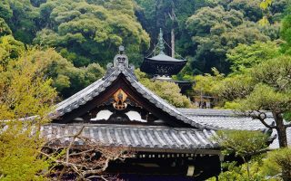 Eikando temple and pagoda. Credit: Zairon. Licensed under CC-SA 4.0.