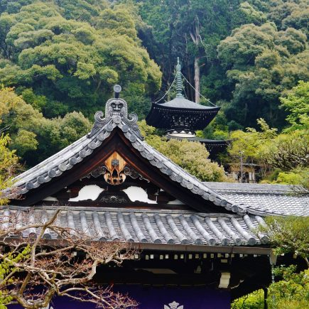 Eikando temple and pagoda. Credit: Zairon. Licensed under CC-SA 4.0.