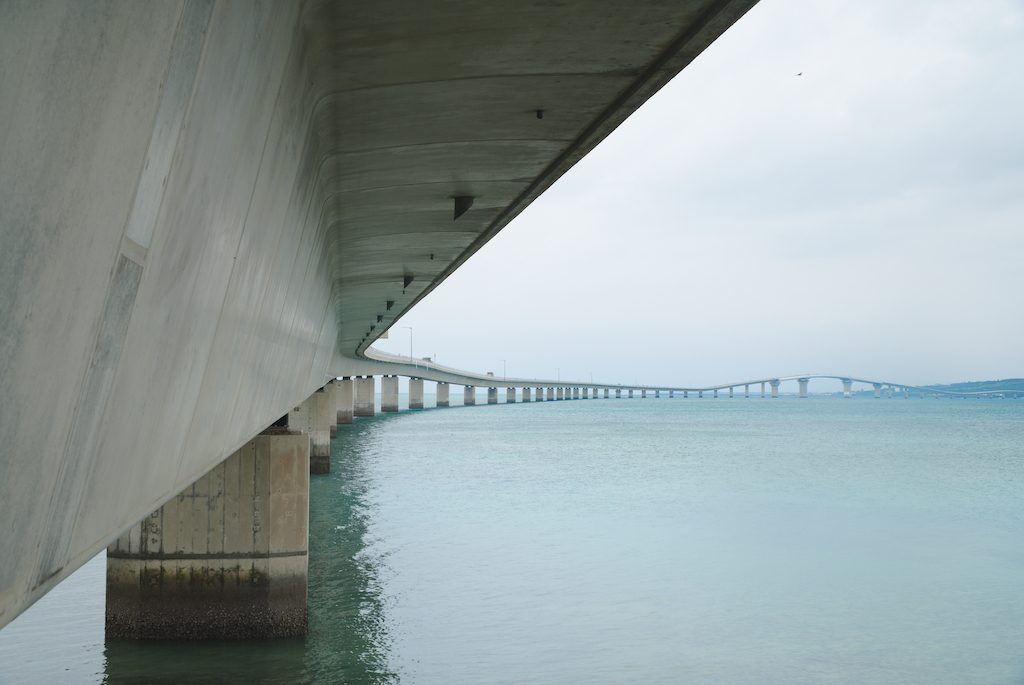 Irabu Bridge, Miyakojima.  Photo © touristinjapan.com.