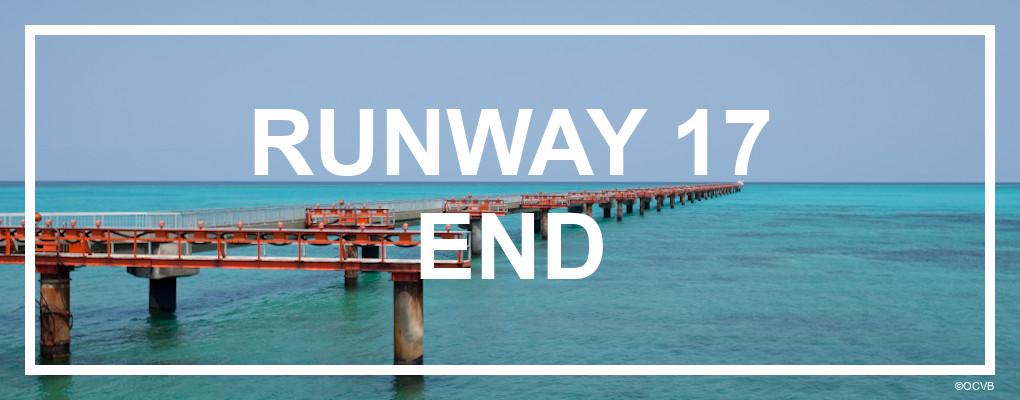 End of runway 17 and shimojishima airport. ©OCVB