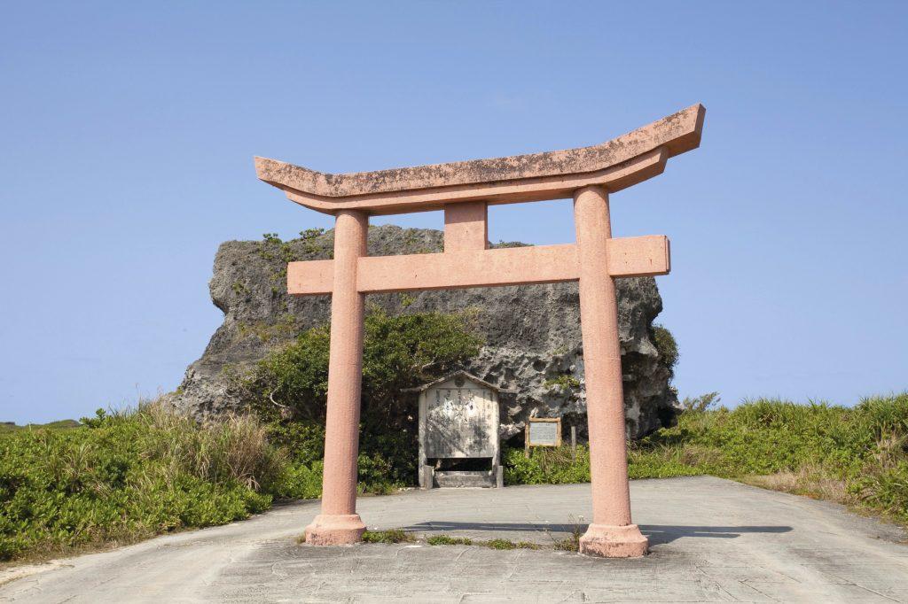 Obi-Iwa rock, Shimoji island, Miyako. ©OCVB.