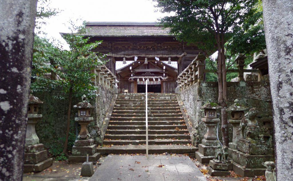 Matsue Tawara Shrine. © Andrew Endersby.
