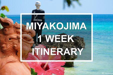 Miyakojima 1 week itinerary. © touristinjapan.com