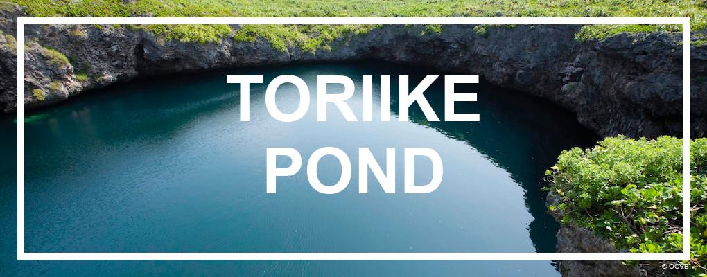 Toriike pond, Miyakojima. © OCVB
