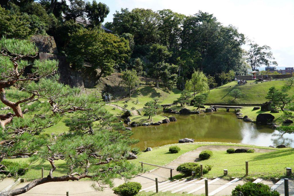 Gyokusen'inmaru Park, Kanazawa Castle Park. © touristinajapan.com