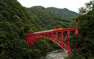 Kurobe Gorge Railway. © touristinajapan.com