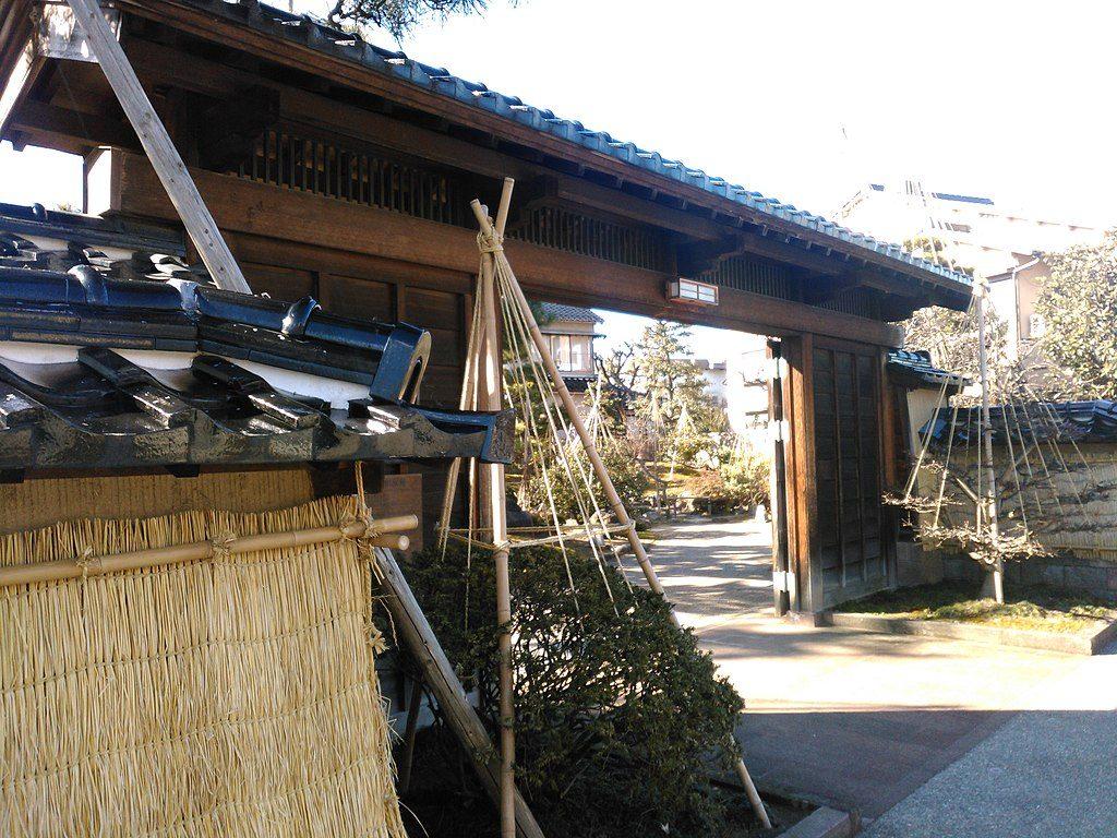 Former Takada Family House, Kanazawa.  Photo by Kokorico568. CC BY-SA 4.0.