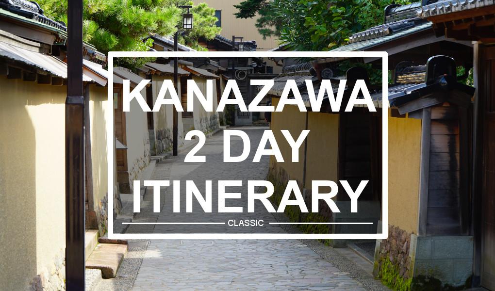 Kanazawa Itinerary. © touristinjapan.com