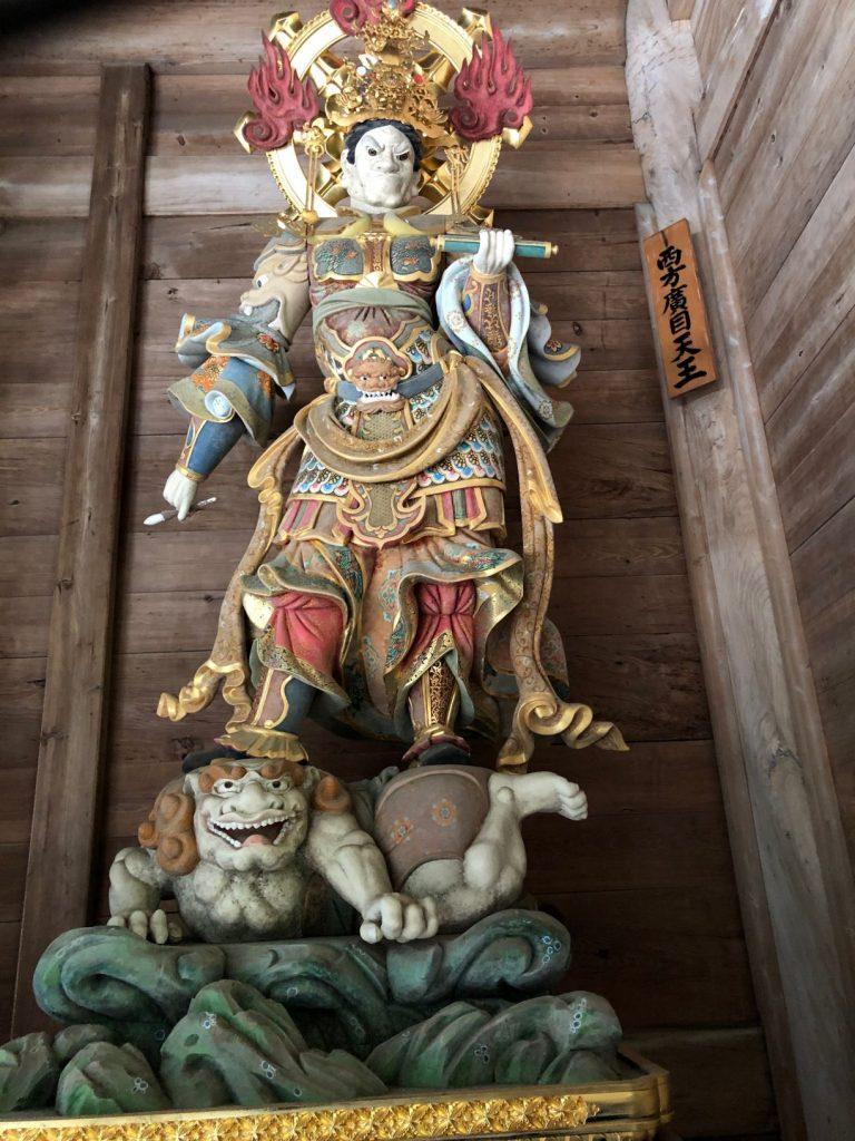 Four Heavenly Kings at Eihei-ji Temple, Fukui