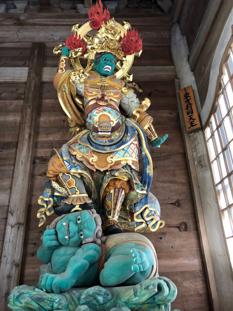 Four Heavenly Kings at Eihei-ji Temple, Fukui