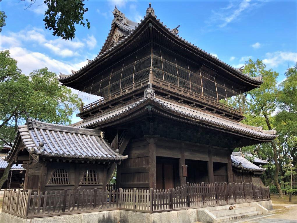 Shofukuji Temple, Hakata Old Town, Fukuoka. © touristinjapan.com