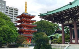 Tochoji Temple, Hakata Old Town, Fukuoka. © touristinjapan.com