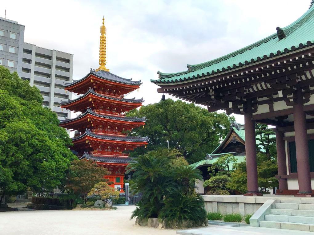 Tochoji Temple, Fukuoka. © touristinjapan.com