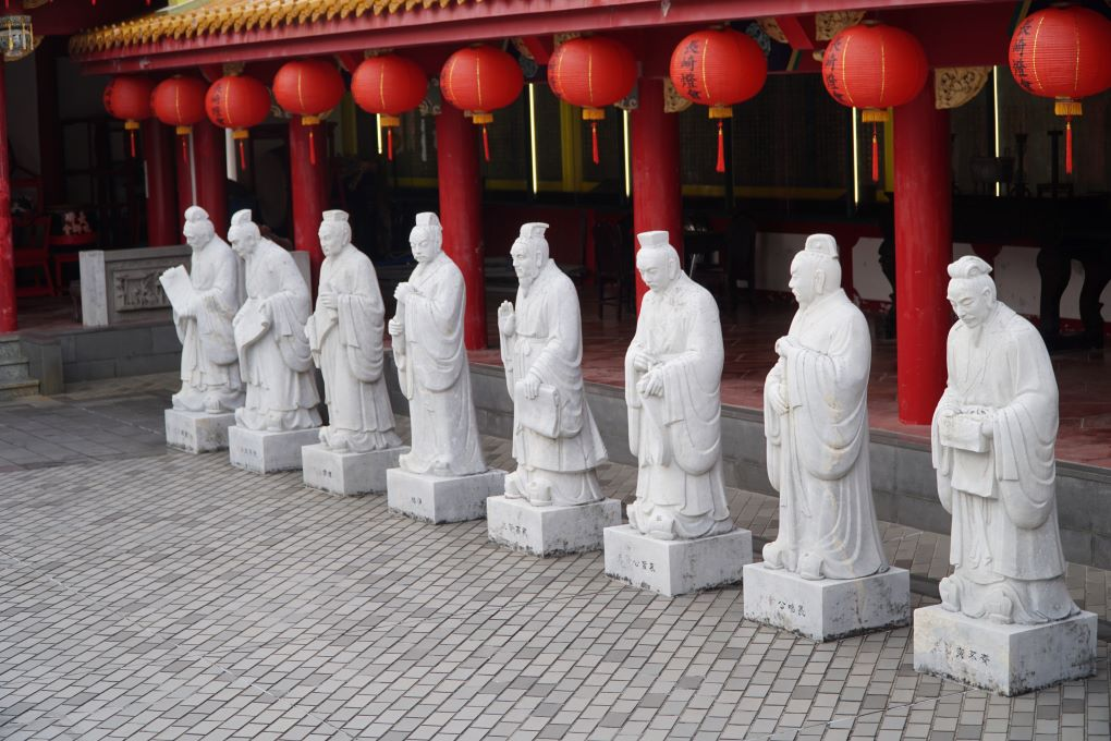72 sages at Kōshi-byō, Nagasaki Confucius Shrine. © touristinjapan.com
