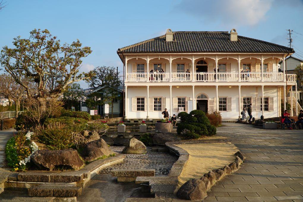 Glover Garden Mitsunishi no2 dock house, Nagasaki. © touristinjapan.com