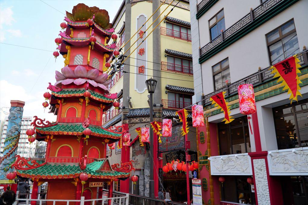 Nagasaki China Town during the yearly lantern festival. © touristinjapan.com