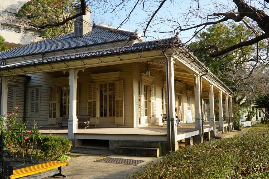 House no 12, Dutch slope, Nagasaki. © touristinjapan.com