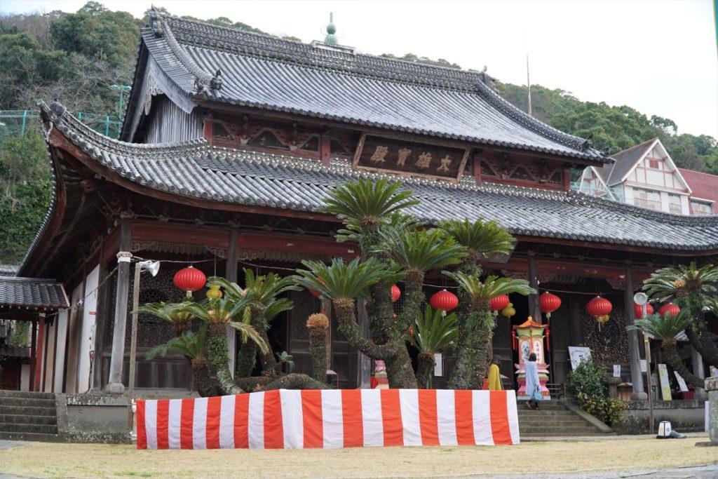 Daio Hoden at Kofuku-ji temple, Nagasaki. © touristinjapan.com