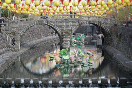Meganebashi Bridge, Nagasaki. © touristinjapan.com