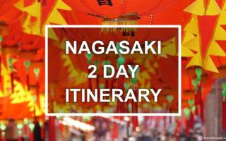 Nagasaki 2 days itinerary. © touristinjapan.com