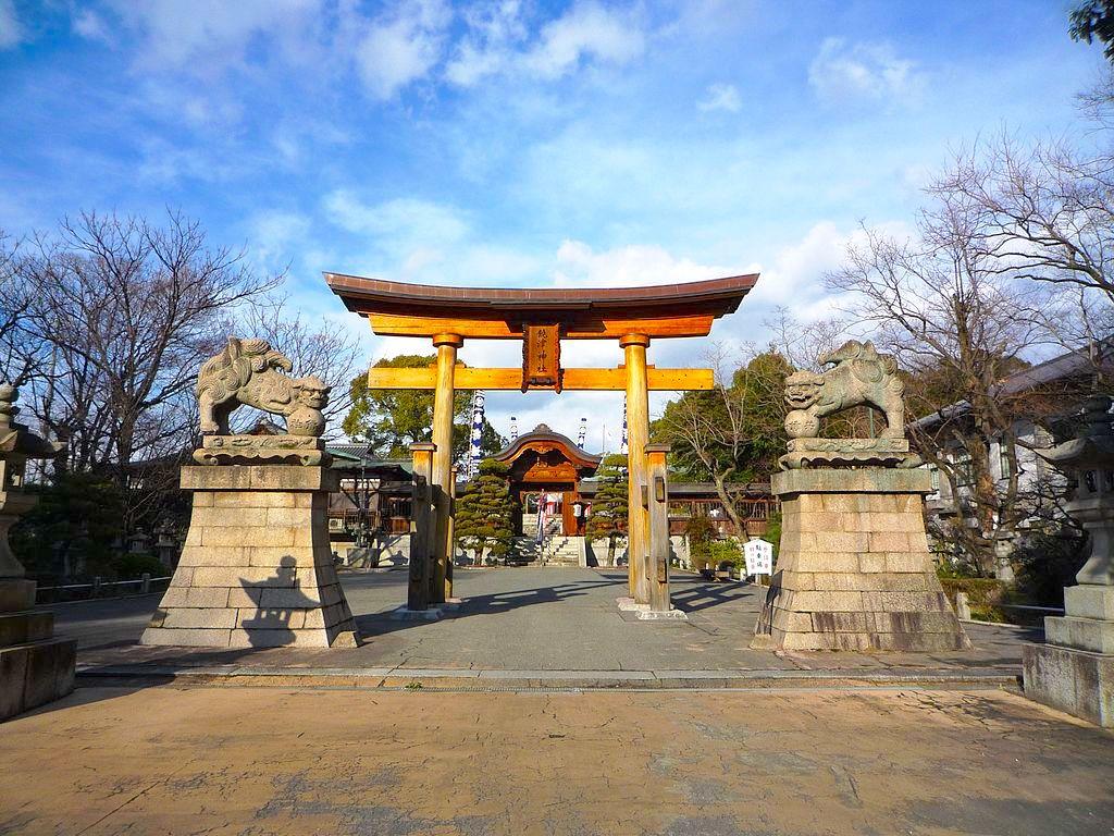 Nigitsu Shrine in Hiroshima. Photo by Taisyo of Wikimedia. CC BY 3.0.