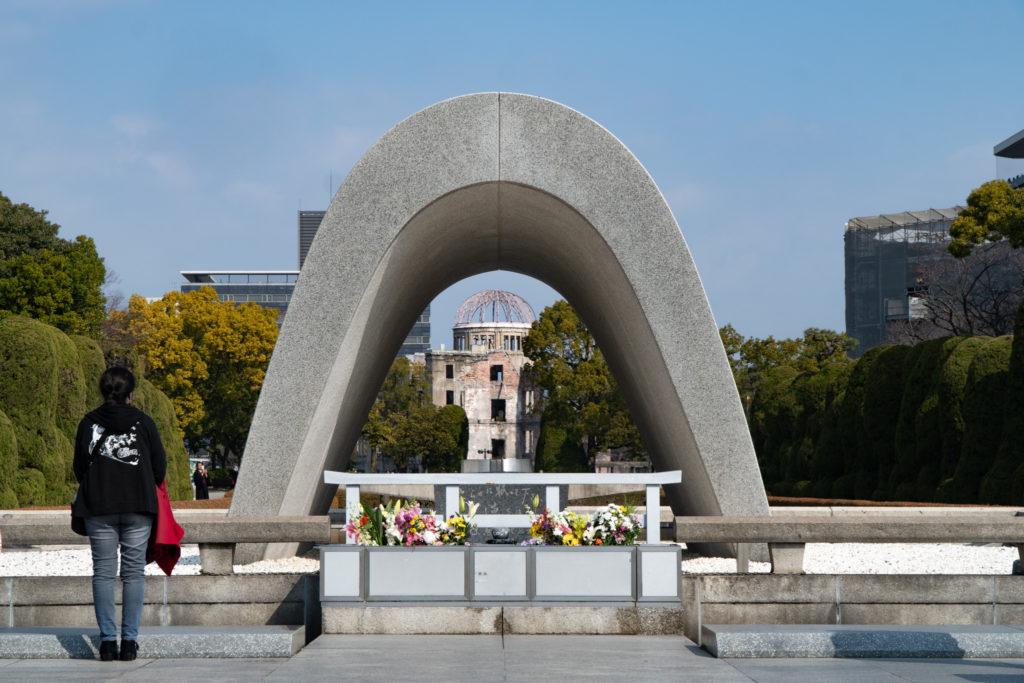 Memorial Cenotaph at Hiroshima Peace Park. © touristinjapan.com
