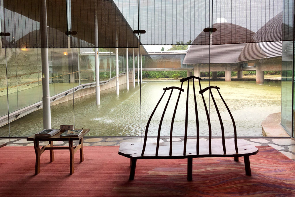 Designer Chairs at Tanaka Isson Memorial Museum, Amami Oshima. © touristinjapan.com
