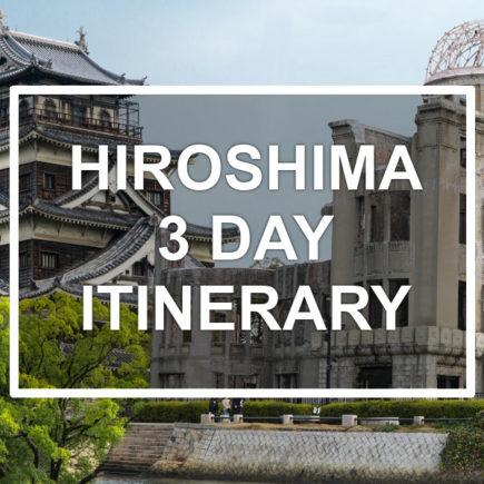 Hiroshima 3-day itinerary. © touristinjapan.com
