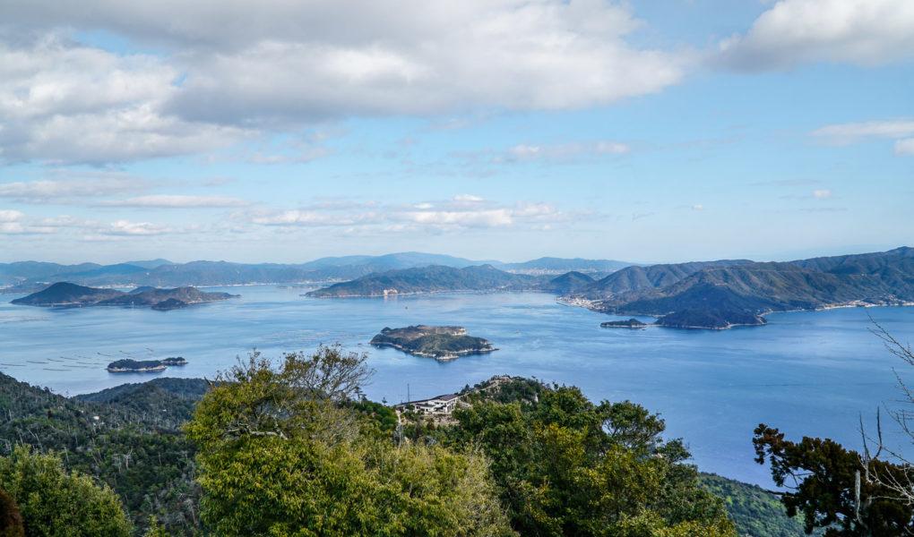 View from Mount Misen Observatory, Miyajima. © touristinjapan.com