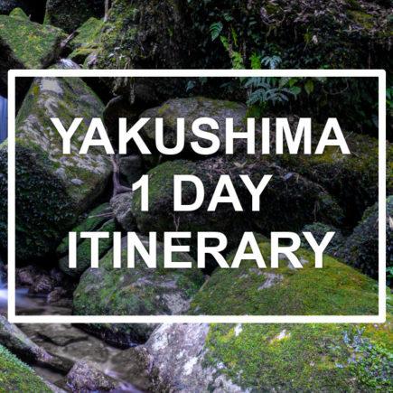 Yakushima 1-day itinerary. © touristinjapan.com