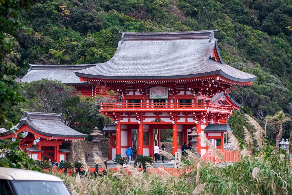 Udo Shrine Gate, Miyazaki Prefecture, Kyushu, © touristinjapan.com