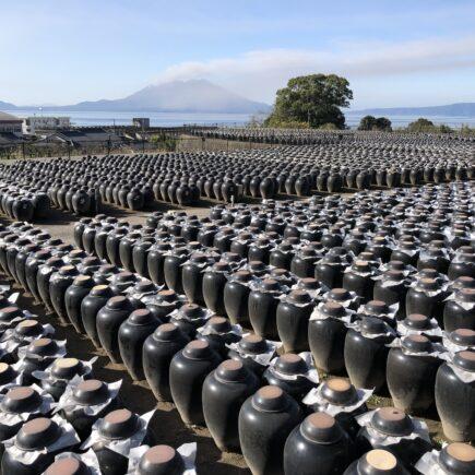 Kirishima Kurozu, Black Vinegar Production, Kagoshima Prefecture. © touristinjapan.com