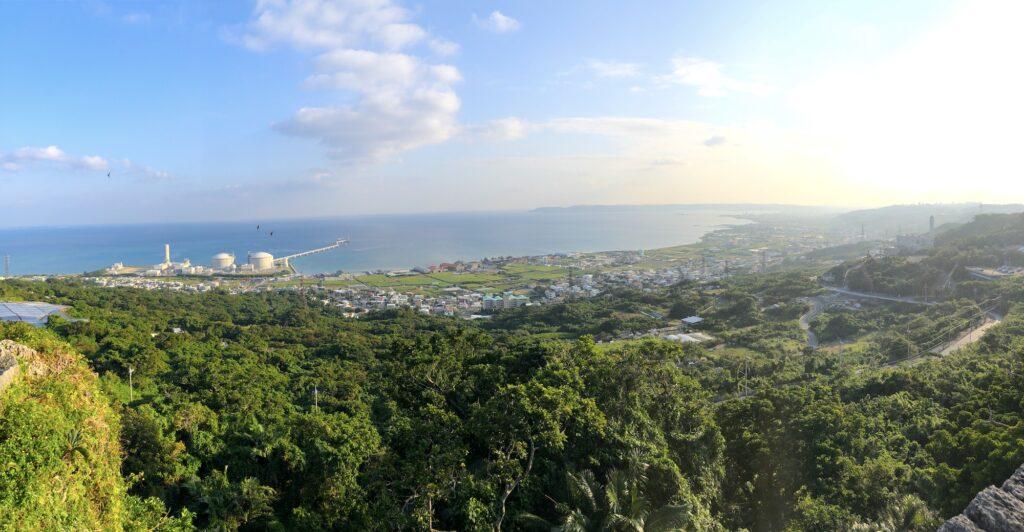 View from Nakagusuku Castle, Okinawa. © Touristinjapan.com