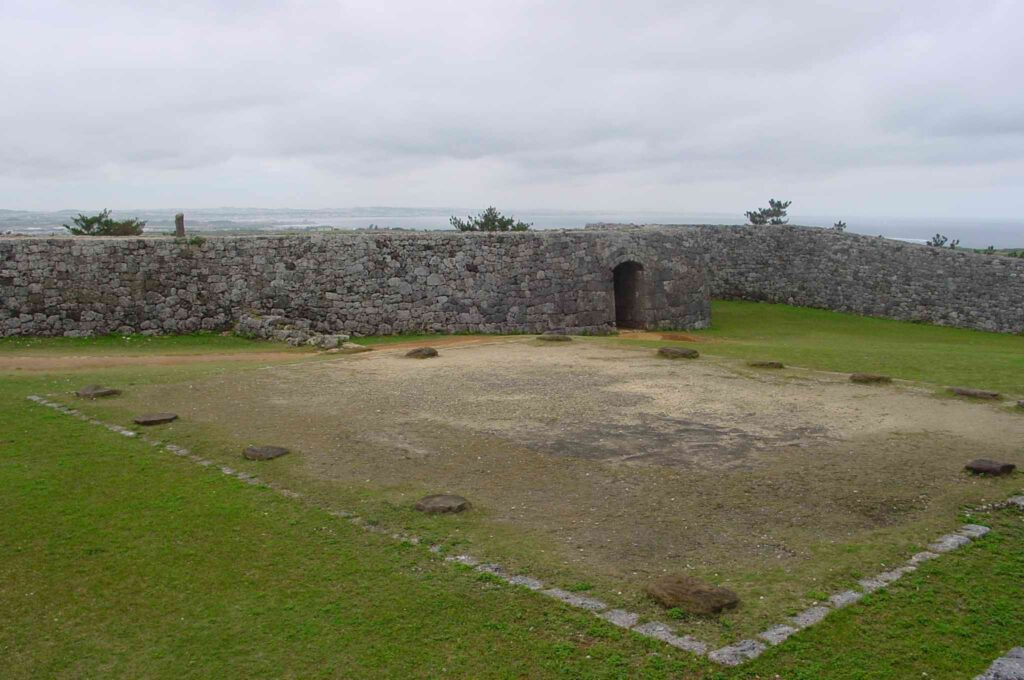 Zakimi Castle Ruins, Okinawa. Photo by Linh Vien Thai. CC BY-ND 2.0.
