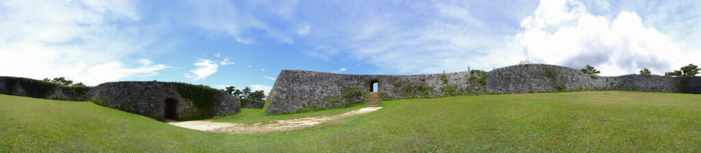 Zakimi Castle, Okinawa. Photo by Masakazu Matsumoto. CC BY 2.0.